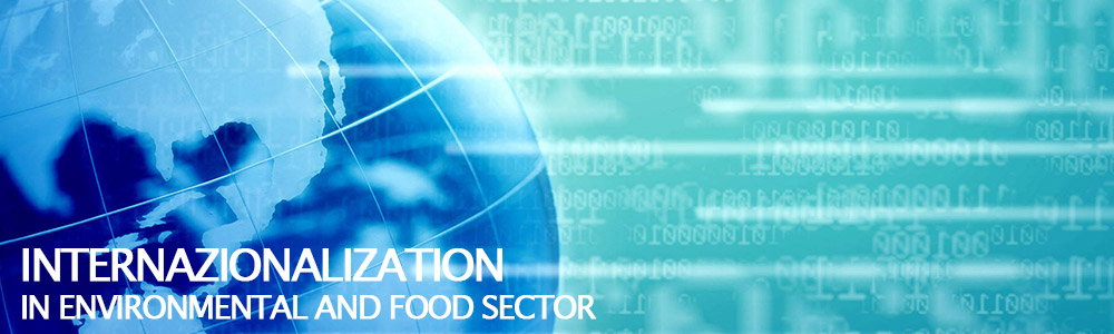 Internationalization in environmental and food sector